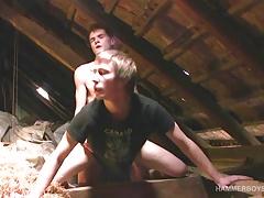 Twinks Patrik and Rob Bareback Fucking