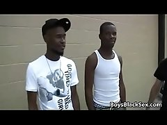 Blacks On Boys - Rough Gay Interracial Nasty Fucking Video 01
