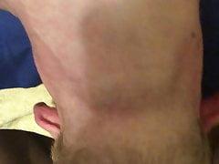 Huge cock throat fuck