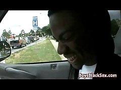Blacks On Boys - Interracial Gay Hardcore Bareback Fuck Video 17