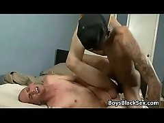 Blacks On Boys - Rough Interracial Gay Porn 16