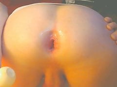 bubble round ass gaping 6