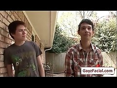 Bukkake Boys - Gay Hardcore Sex from www.GayzFacial.com 05