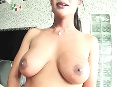 big tit and big cock tranny fucks a twink