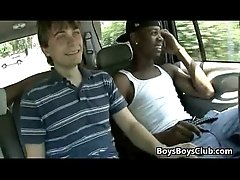 Blacks On Boys - Gay Interracial Bareback Sex Scene 17