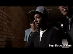 Blacks On Boys - Interracial Nasty Hardcore Gay Fuck Movie 06