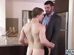 Billy Santoro puts his hard cock deep inside Dougs tight ass
