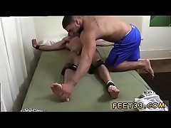 Hairy white gay man big dick and feet boy rides twink Billy &amp_ Ricky