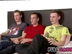 Three gay students in their first  Fullgays.com