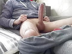 Real friend show monster cock