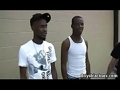 Blacks OnBoys - Black Gay Dude Fuck White Twink Hard 01