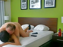 trucker daddy suck and fuk his Twink bf part 2