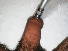 I  playing with my dick in my bathroom