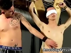Guy in bondage being jacked off gay Reece is the unwilling