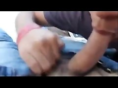 two indian gays sucking on roof top and cumming
