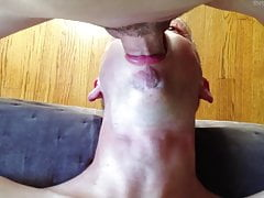 Deep Throat - Sucking Guy (Blow Job - Cum Facial - Close-Up)