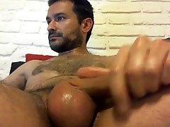 Horny Boy Masturbating Solo Gay Guy XXX Cum Shot