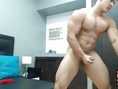 Blowing Chinese Bodybuilder Shooting