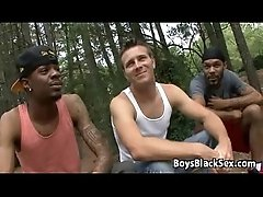 Blacks On Boys -Interracial Bareabck Hardcore Fuck Video 14