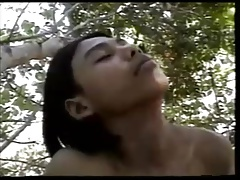 Mowgli Jerk off in the Jungle