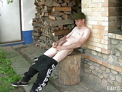 OUTDOOR WEBCAM - HORNY VILLAGE BOY