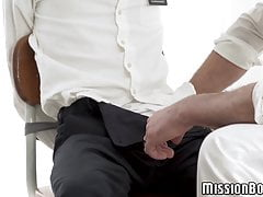 Innocent Mormon guy hooks up with daddy and has raw bang