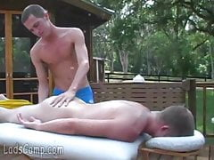 Camping gay boys go for xxx massage
