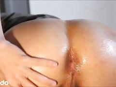 Danish Boy - Oily ass Amateur Twink