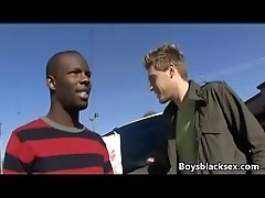 Blacks On Boys - Hardcore Gay Fuck Video 13