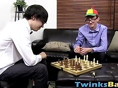 Geeky twinks Scott and Skyler enjoys their big horny dicks