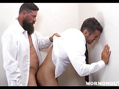 Bearded Gay Mormon Bear Rough Sex With Straight Mormon Guy