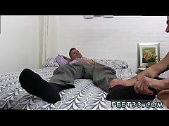 Twinks tube boys gay sex Caleb Gets A Surprise Foot Job