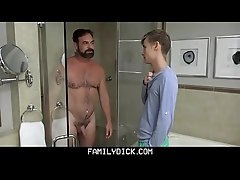 virginal lad acquires His fine backdoor pounded