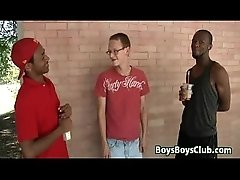 White Gay Dude Has Some Manly Fun With A Black Guy 29