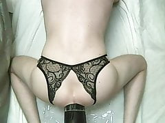 Dark Crystal Wouter - Very wide and well shaped anal dildo