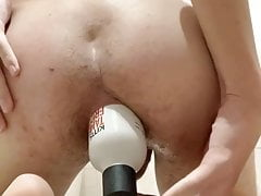 Skinny twink with a huge gape