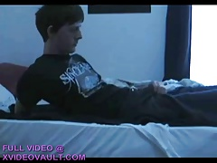 Cute Boi In Bed