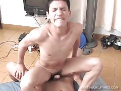 Latin Twinks Omar and Alexander Bareback