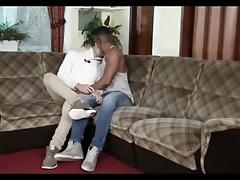 Horny Black Guy breeds Beautiful White Boy