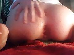Swedish femboy gaping his juicy ass 1