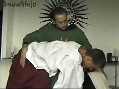 TJ CUMMINGS ALTAR MAN &amp_ PRIEST ROLEPLAY &amp_ SPANKING