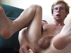 Horny Twink Fucks his ass