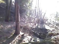 Hot emo boy solo at outdoor