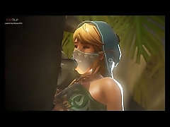 Femboy Link Gets Tight Little Asshole Filled With A Huge Cock | Link From Zelda Best of 3D Porn Compilation