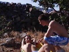 bareback beach party sauvage- part.2